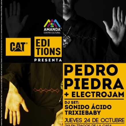 CAT EDITIONS #4 PEDROPIEDRA | 24 DE OCTUBRE