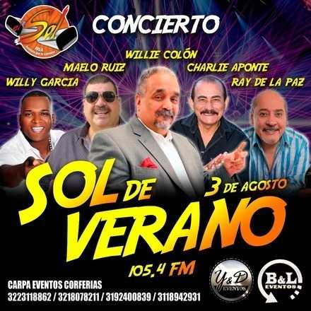 SOL DE VERANO - WILLIE COLON - MAELO RUIZ - CHARLIE APONTE - RAY DE LA PAZ - WILLY GARCIA