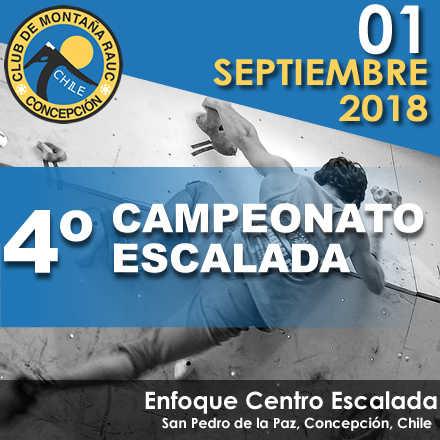 4º Campeonato Escalada CMRAUC