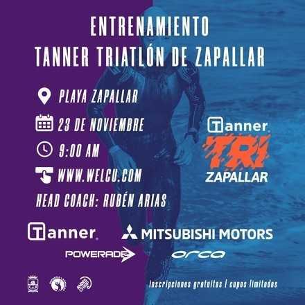 Entrenamiento Tanner Triatlón Zapallar