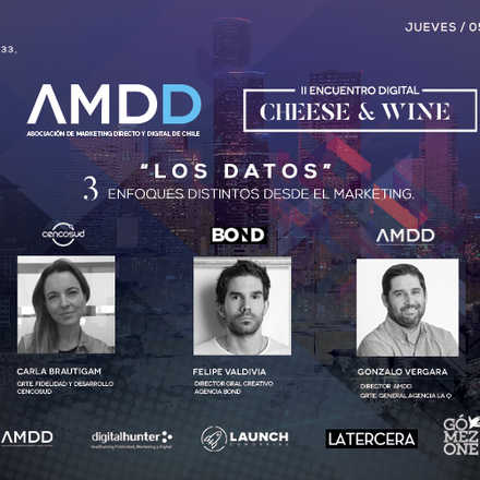 "2º Encuentro Digital Cheese & Wine: ""Los datos, 3 enfoques distintos desde el Marketing"""