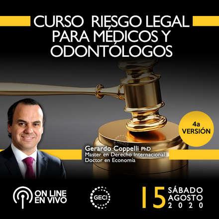 Curso Riesgo Legal para médicos y odontólogos (4a versión) ONLINE