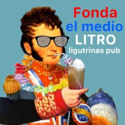"Fonda ""El medio litro!"""