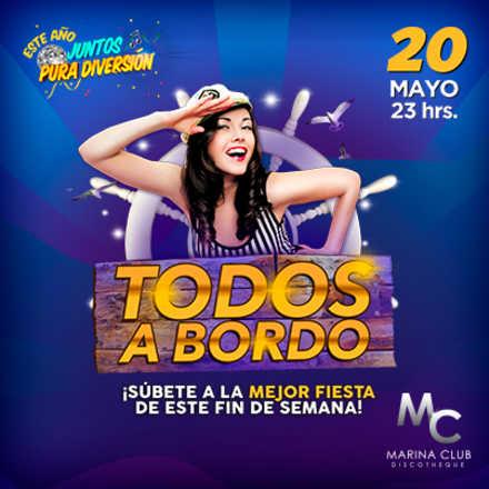 Fiesta Todos a Bordo en MC