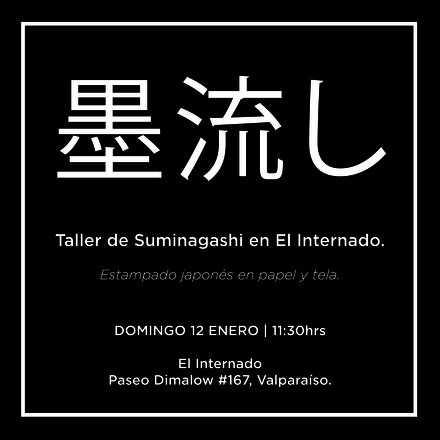 Taller de Suminagashi 墨流し Estampado japonés en papel y tela