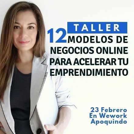 Taller 12 Modelos de Negocios Online