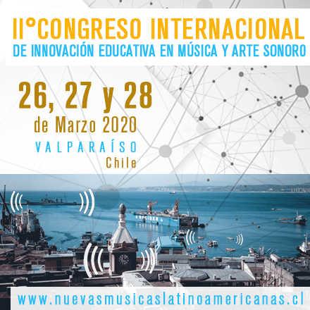 Segundo Congreso Internacional de Innovación Educativa en Música y Arte Sonoro