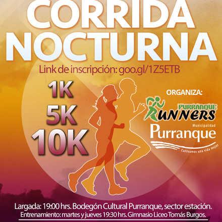 II CORRIDA NOCTURNA RUNNERS PURRANQUE