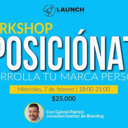 Workshop: #POSICIÓNATE Desarrolla tu Marca Personal