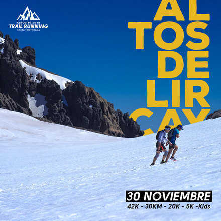 Trail Run Altos de Lircay 2019