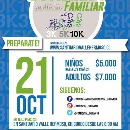 Corrida Familiar 2018 Chicureo