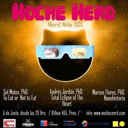Noche Nerd 5 de Junio