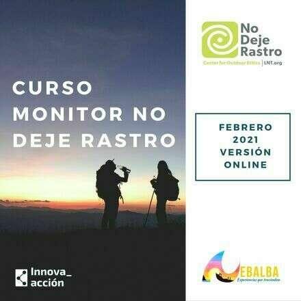 Curso Monitor No Deje Rastro, Cuarta edición