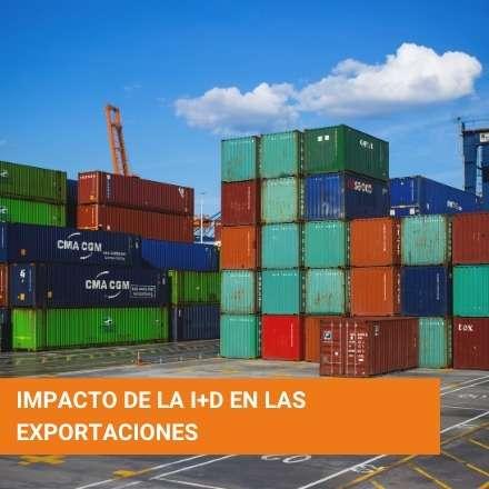Impacto de la I+D en las exportaciones