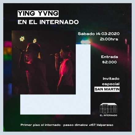 Sello Vibra presenta: YING YVNG en El Internado! #traphouse