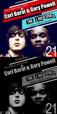 CARL BARÂT & GARY POWELL / 21 JUNIO / @CENTRO CULTURAL AMANDA