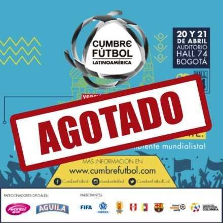 Cumbre Fútbol Latinoamérica - AGOTADO