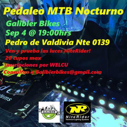 MTB Nocturno con Galibier Bikes