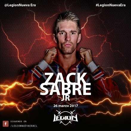 Legion, Recargado 2017 Zack Sabre Jr, en Chile