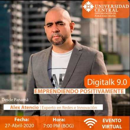Digitalk 9.0: Emprediendo Positivamente
