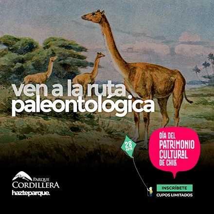 Ruta Paleontológica en el Día del Patrimonio Cultural