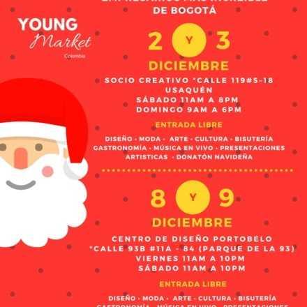 Feria de jóvenes empresarios Young Market Colombia