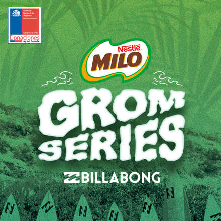 Milo Grom Series By Billabong - Arica 20-21 Enero 2018