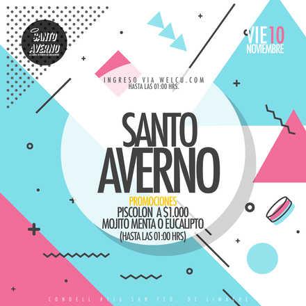Santo Averno / Viernes 10 Nov / Lista Matías Ponce