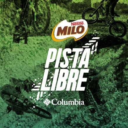 Milo Pista Libre By Columbia - MTB 27 Octubre 2018