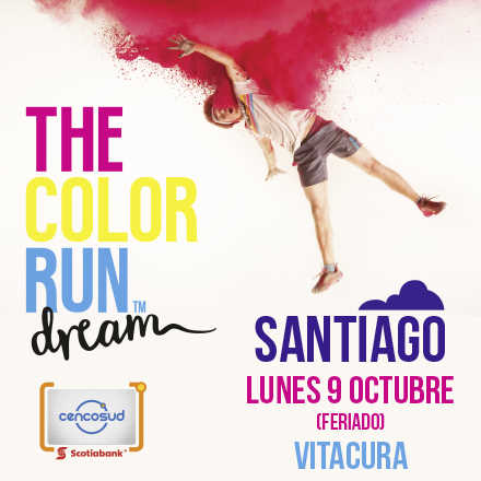 The Color Run Dream Santiago 2017