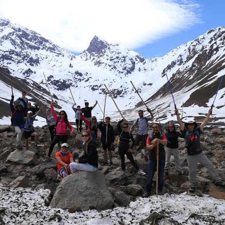 RKF Experience By Volvo: Trekking El Morado