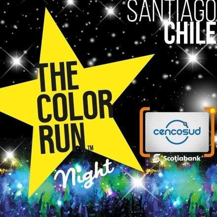 The Color Run Night Tarjeta Scotiabank Cencosud