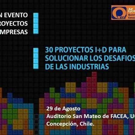 Evento cierre Vinculación proyectos I+D con empresas