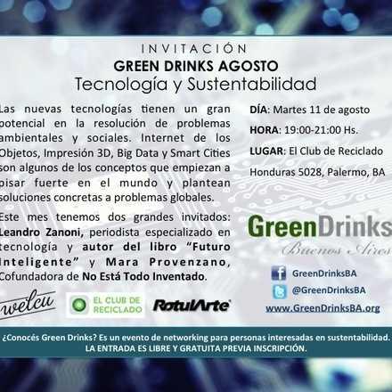 Green Drinks Buenos Aires 11-08 / Tecnología y Sustentabilidad