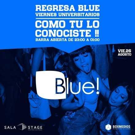 Viernes Blue Universitarios