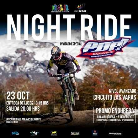 Nite Ride con Pop! Graphics y Burgers Beers & Boards