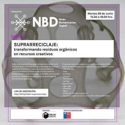 Taller Biofabricación para el suprarreciclaje