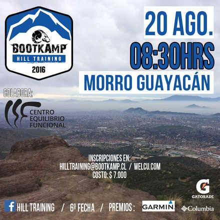 Hill Training - Morro Guayacán (San Carlos de Apoquindo) - 6ª Fecha 2016