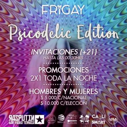 Frigay Rosa :: Psicodelic Edition