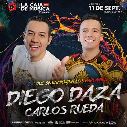 Diego Daza y Carlos Rueda - Pa' que se Esmigajen los Parlantes - PULEP: UGL715