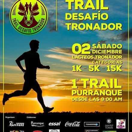 """TRAIL """"DESAFÍO TRONADOR"""""""