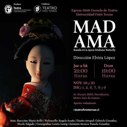 MADAMA - Egreso Escuela de Teatro, Universidad Finis Terrae