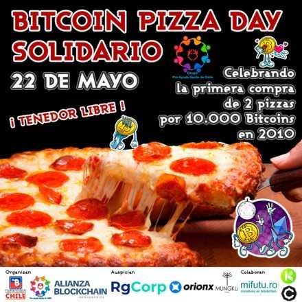 Bitcoin Pizza Day Solidario