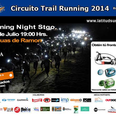 Circuito Trail Running Night Santiago - 3° fecha - Parque Aguas de Ramón