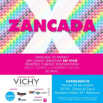 Fiesta Aniversario #Zancada10