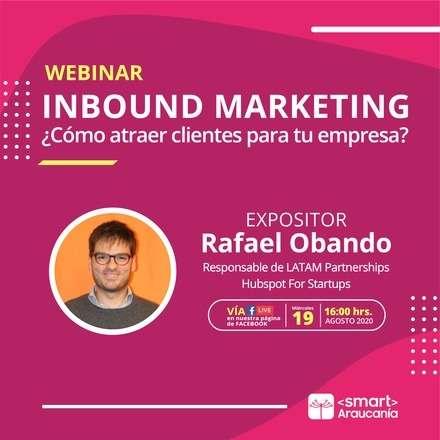 Webinar: Inbound Marketing, ¿Cómo atraer clientes para tu empresa?