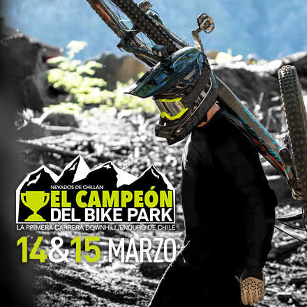 Campeón del Bike Park Nevados de Chillán 2020