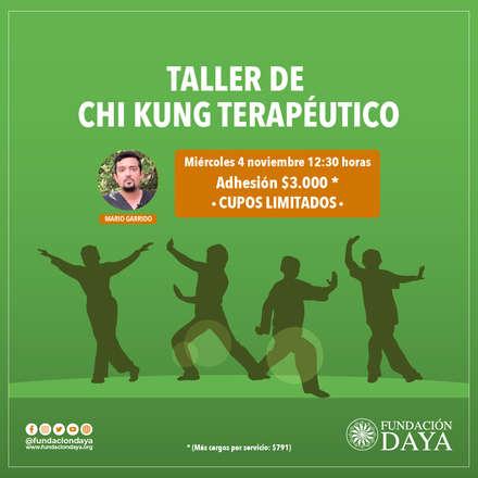 Taller de Chi Kung Terapéutico 4 noviembre