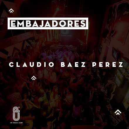 CLAUDIO BAEZ - We Love UP ! Viernes 13.01