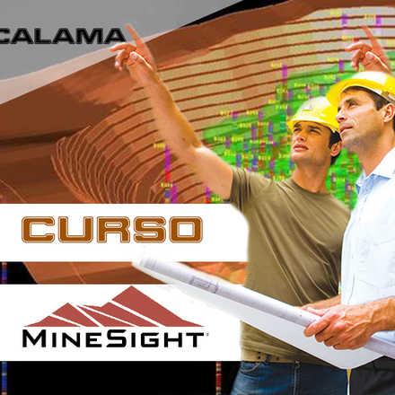 Aplicación Minera Minesight desde Chile (Capacitacion Presencial)  600USD